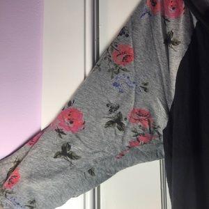 torrid Tops - Torrid | V-Neck Floral Quarter Sleeve Blouse